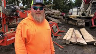 Milling Douglas Fir Timber Framing Lumber