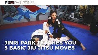 Jinri Park Teaches You 5 Basic Jiu-Jitsu Moves
