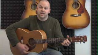 Guitar for Beginners 45 - How to Play the A Chord with Different Finger Positions