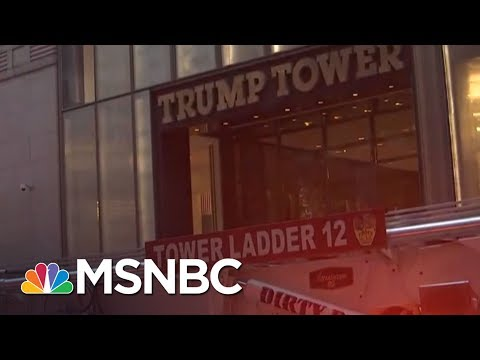 One Seriously Injured In Trump Tower Fire In New York City | MSNBC