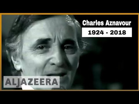 🇫🇷 Legendary French singer Charles Aznavour dies at age 94 | Al Jazeera English Mp3