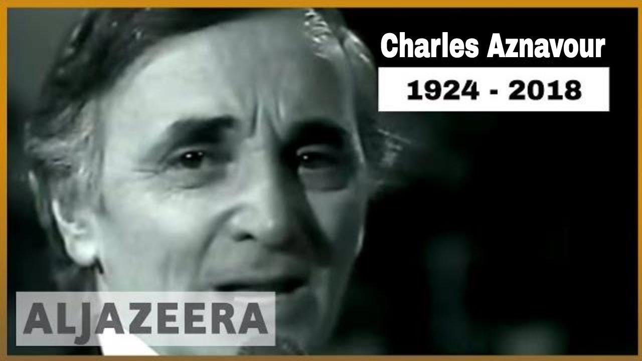 🇫🇷 Legendary French singer Charles Aznavour dies at age 94 | Al Jazeera  English