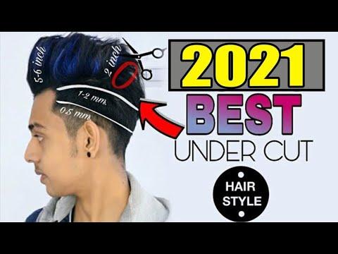 Men's Best Hair Style 2018 ☆ HINDI☆Men's Messy Quiff Undercut hairstyles☆Sayan