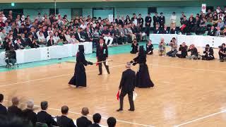 65th All Japan Kendo Championship 2017 - 真田 vs 畠中