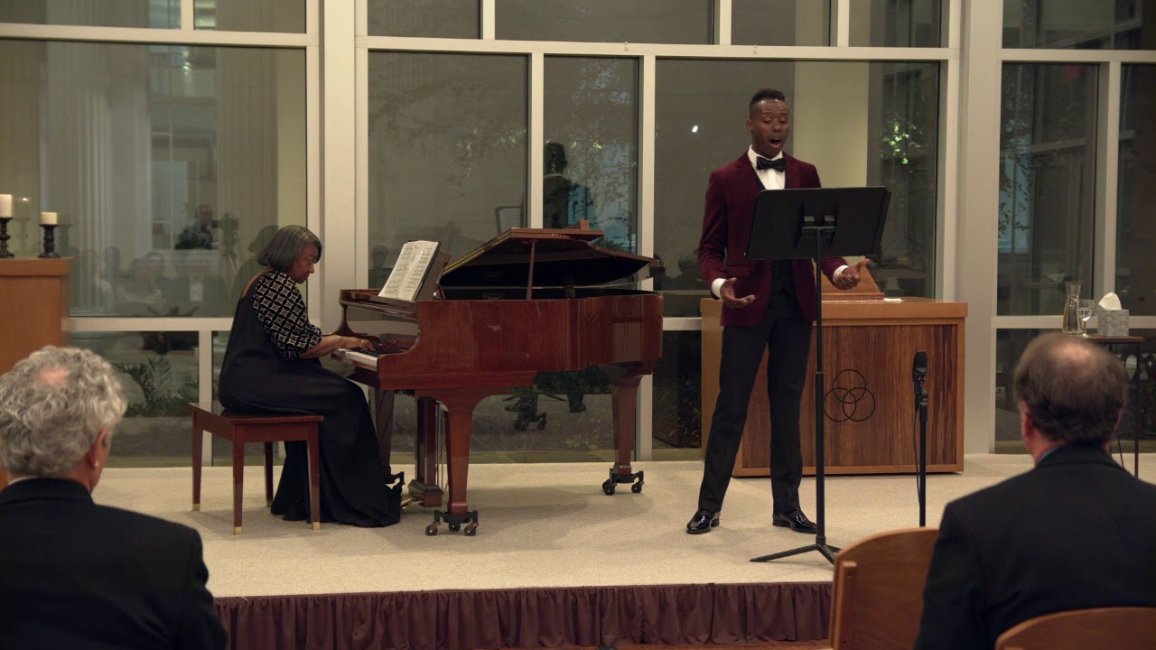 I Want Jesus To Walk With Me, arr. Moses Hogan - Donovan Black (tenor), Dr. Barbara Bouie (Piano)