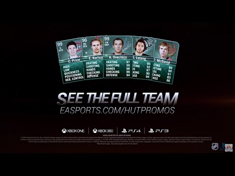 NHL 15: HUT Team of the Year - This is the moment all Hockey Ultimate Team fans have been waiting for, the HUT Teams of the Year are finally here!