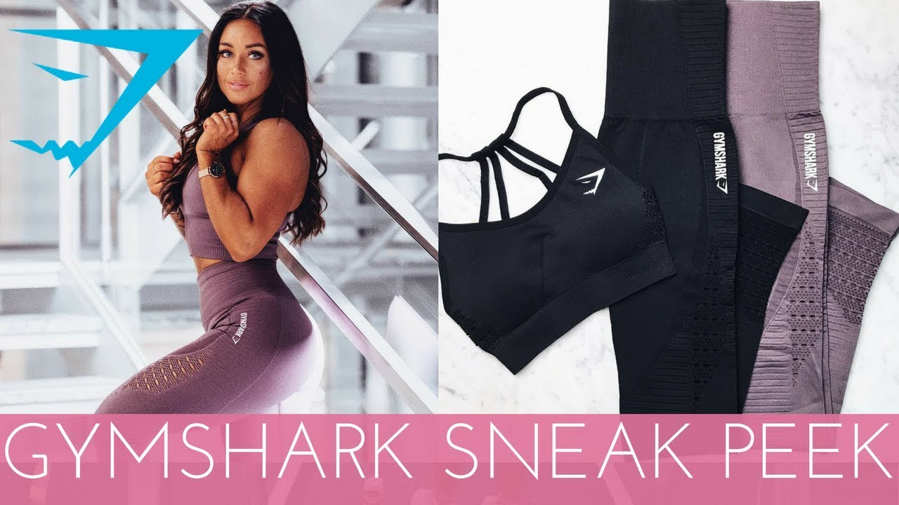 6803dc6aaba24 GYMSHARK NEW SEAMLESS HAUL - TRY ON AND SQUAT PROOF TEST! - YouTube