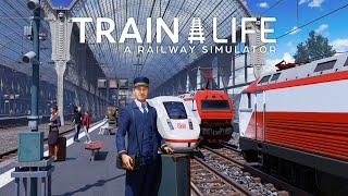 Train Life   Karriere-Modus iṁ neuen Zug-Simulator 🚂 Let's Play Train Life - A Railway Simulator