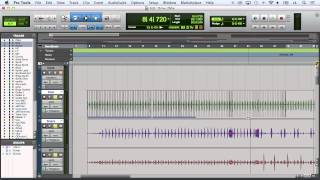 Editing Drums With Elastic Audio