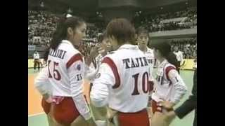 1995 WC Volleyball Cuba vs Japan