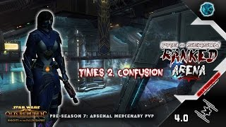 Sky'lash - Times 2. Confusion, Solo Rank ► SWTOR PvP 4.0 Mercenary - Arsenal