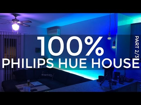 100% PHILIPS HUE HOUSE 2/3