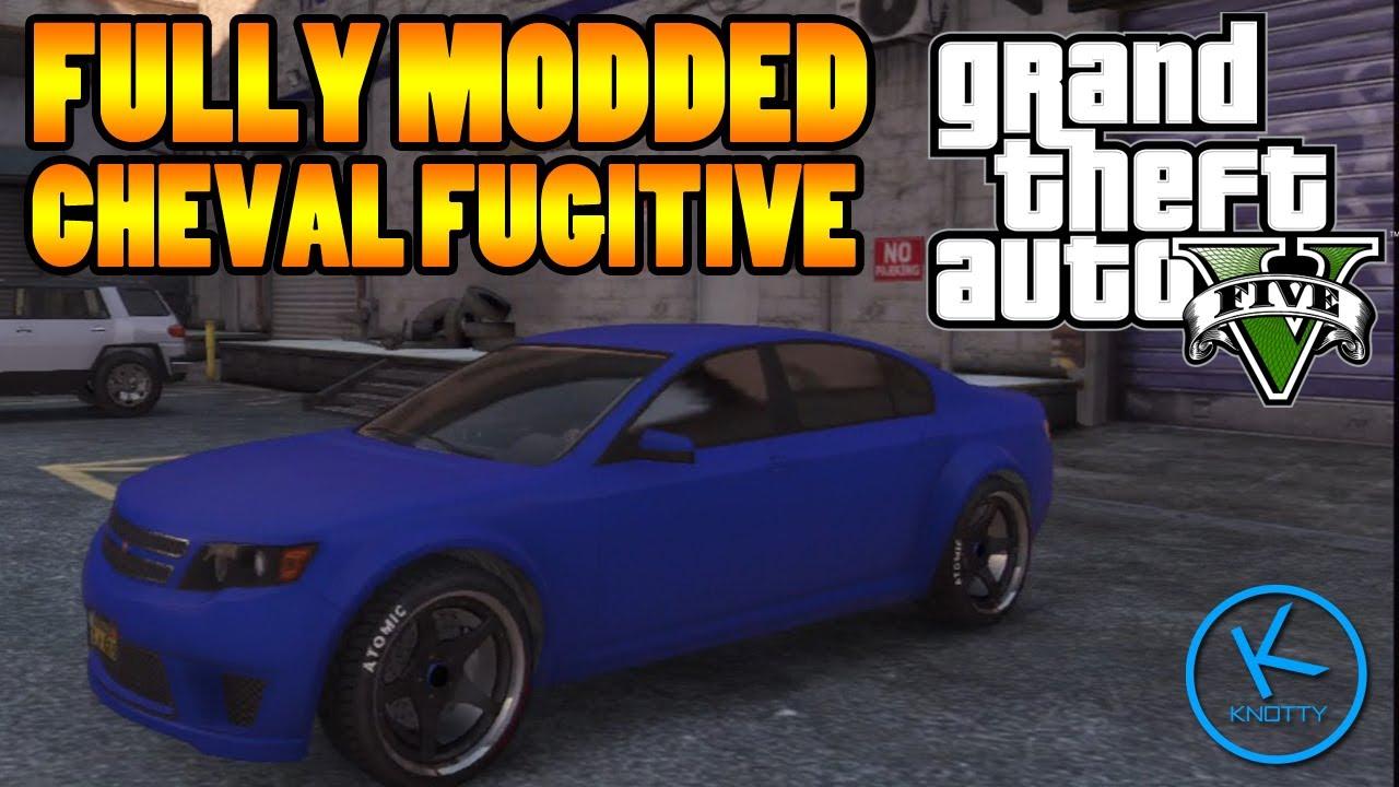 GTA 5 Fully Modified: CHEVAL FUGITIVE - YouTube
