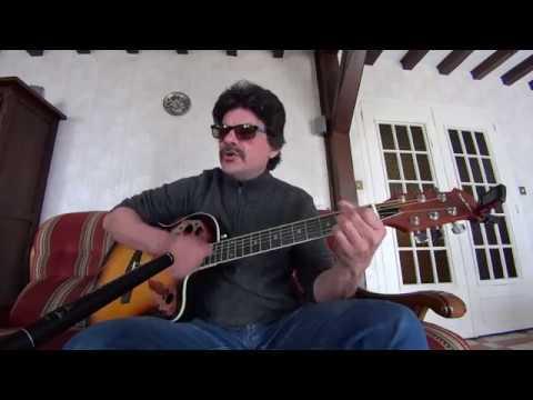 Oh Ma Jolie Sarah JOHNNY HALLYDAY Cover Guitare