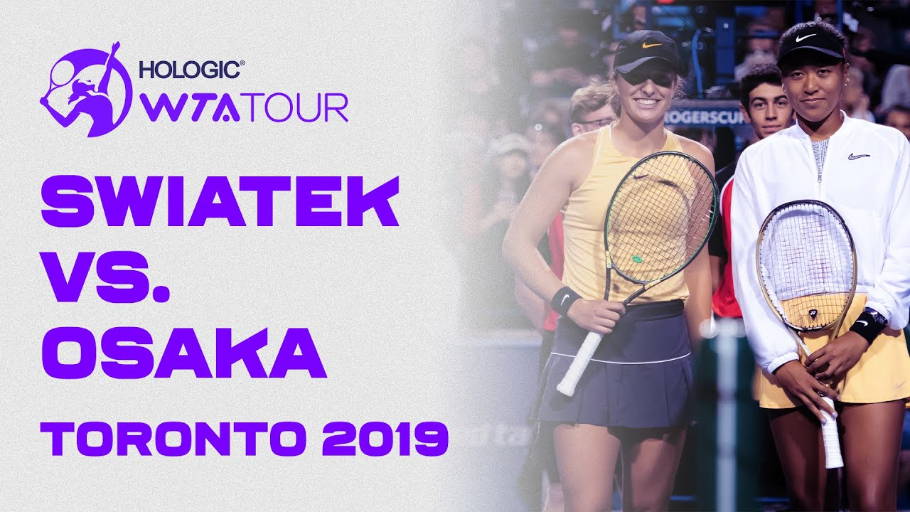 Extended Highlights: Naomi Osaka vs. Iga Swiatek | 2019 Toronto Third Round