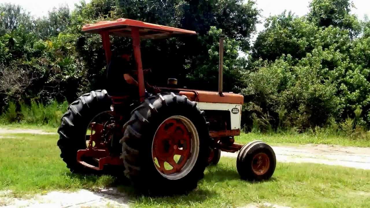 Ih 560 Tractor For Sale Youtube