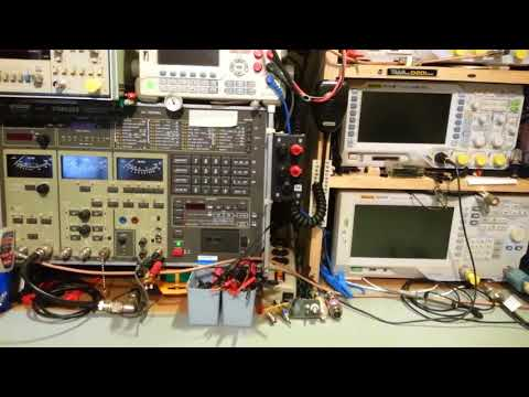 Electronics course update and some new equipment on the bench.