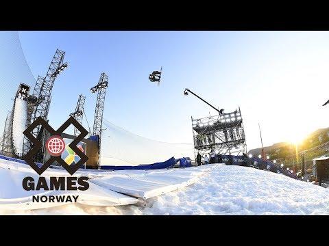 Men's Snowboard Big Air: FULL BROADCAST | X Games Norway 2018
