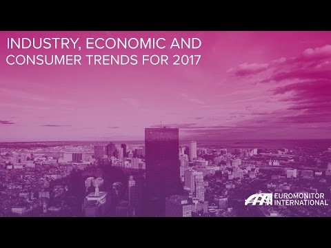 Industry, Economic and Consumer Trends for 2017
