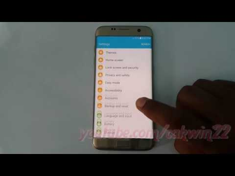 Samsung Galaxy S7 Edge : How to Enable or disable Predictive text (Android Marshmallow)