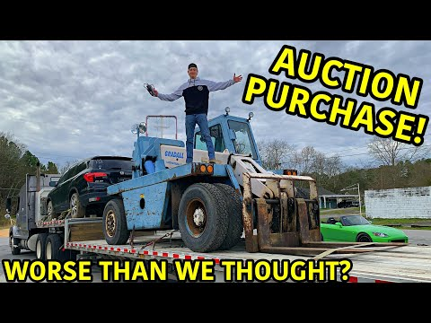 Rebuilding The Worlds Biggest Forklift!!! from YouTube · Duration:  20 minutes 21 seconds