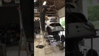 Repose moteur de Renault 4cv