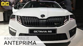 Skoda Octavia e Octavia RS restyling 2017 | Anteprima live [ENGLISH SUB]