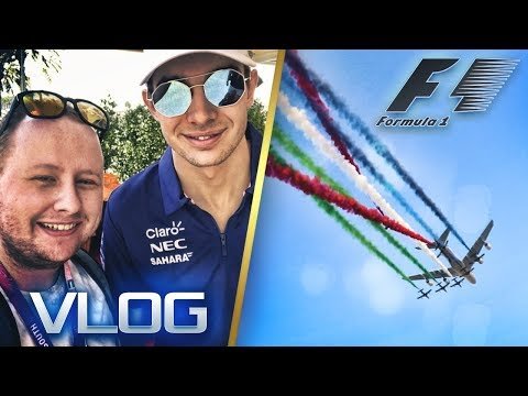 INTERVIEWING F1 DRIVERS - F1 Abu Dhabi Vlog 2017