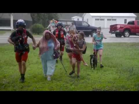 Coast Guard Fifth District Air Stations Respond to Hurricane Florence