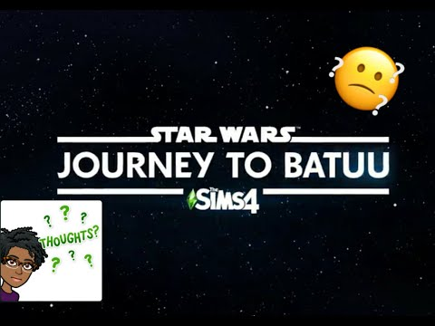 Sims 4: Star Wars Journey to Batuu Reaction |