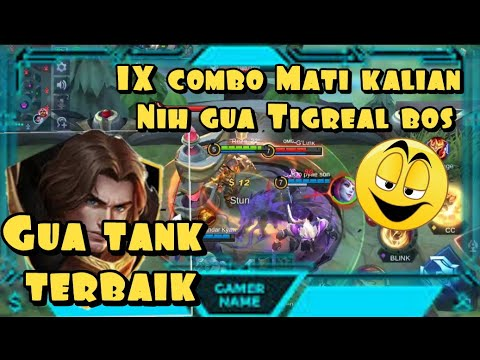 Tigreal Hero's best combo | The New Meta of the Strongest Tank - Mobile Legend