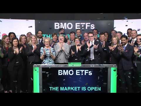 BMO Exchange Traded Funds Opens Toronto Stock Exchange, March 18, 2018