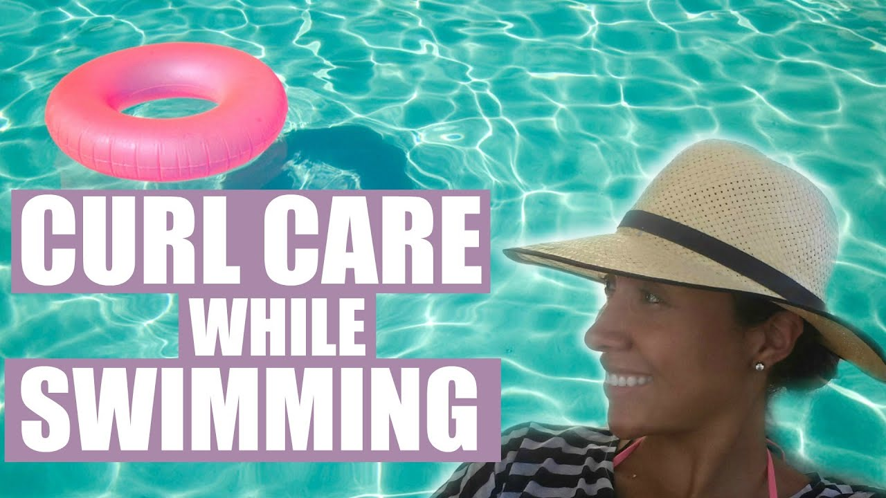 Curly Hair Care For Swimming How To Protect Your Hair From Chlorine Youtube