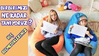 KUZENİM İLE BİRBİRİMİZİ NE KADAR TANIYORUZ CHALLENGE | HİÇ BİLMEDİKLERİNİZ - Eğlenceli Çocuk Videosu