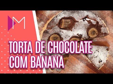 Torta de chocolate com banana - Mulheres (19/07/2018)