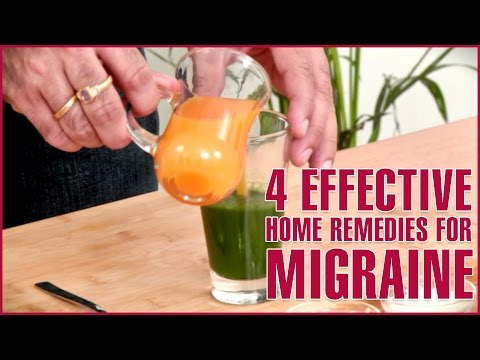 3 Best Home Remedies For MIGRAINE RELIEF
