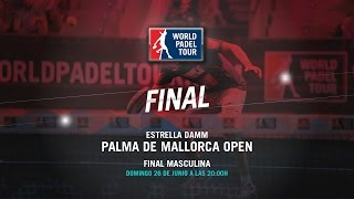 DIRECTO - Final Masculina Palma de Mallorca Open 2016 | World Padel Tour