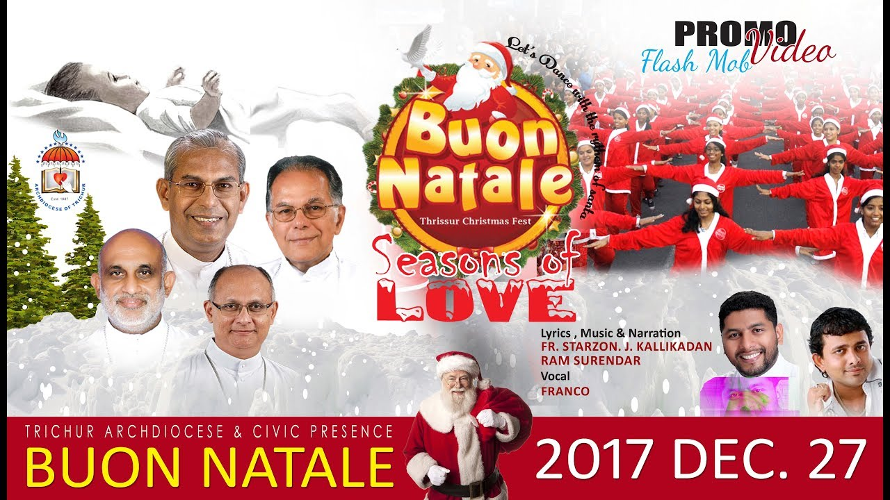 Buon Natale Song.Buon Natale 2017 Theme Song We Wish You Christmas Franco Fr