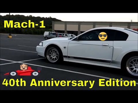 2004 Mustang Mach-1 40th Anniversary Edition
