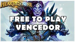 HEARTHSTONE - FREE TO PLAY VENCEDOR! (STANDARD F2P AGGRO SHAMAN)