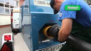 Badanie mocy ciągników - hamownie Eggers Dynamometer w firmie Raitech