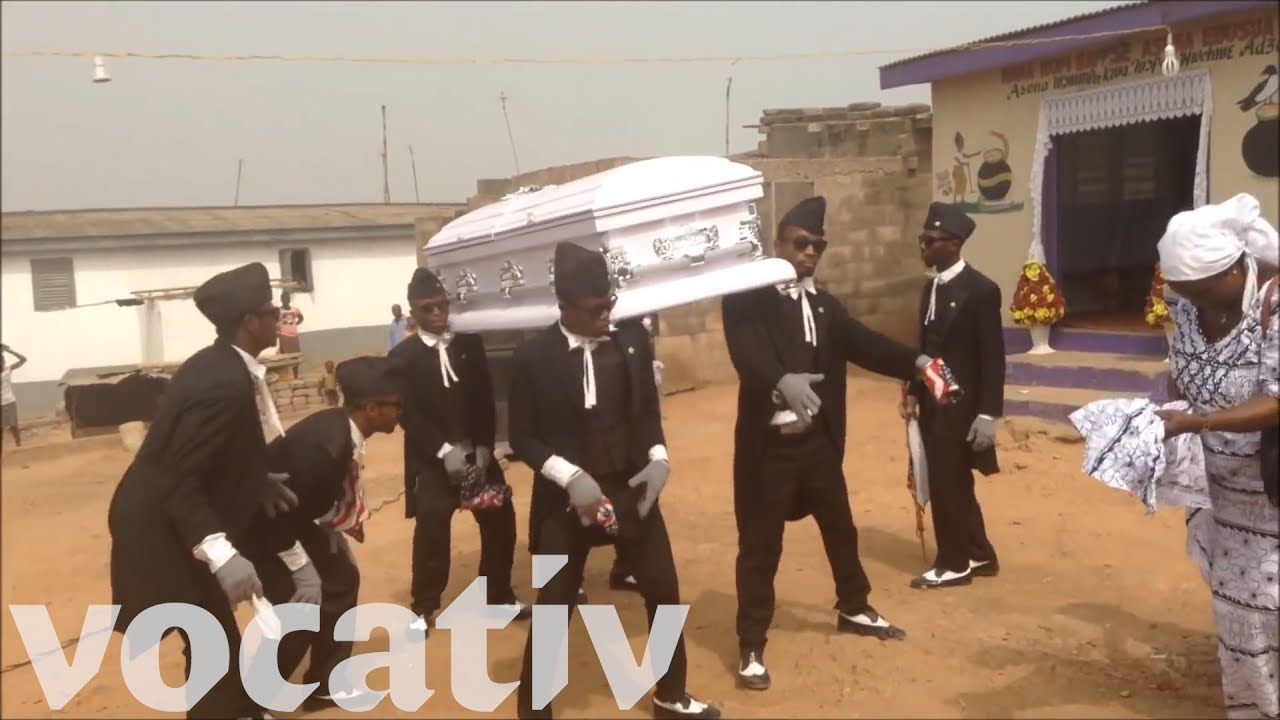 These Performers Are Hired To Dance At Funerals In Ghana and Nigeria
