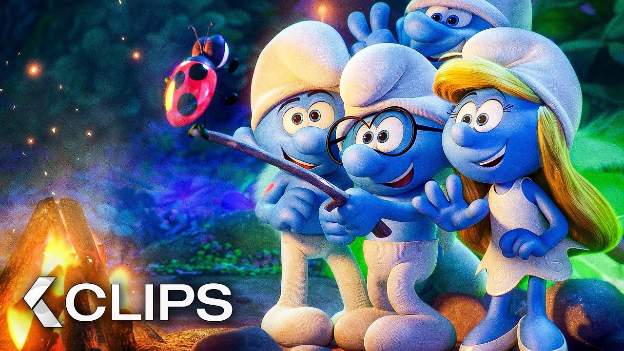 Download SMURFS: THE LOST VILLAGE All Clips & Trailer (2017)