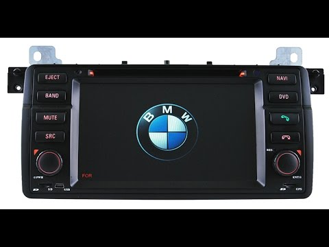 aftermarket bmw e46 m3 dvd gps radio navigation system for. Black Bedroom Furniture Sets. Home Design Ideas