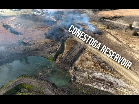 Conestoga Reservoir Construction
