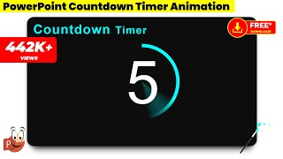 10.Create Countdown Timer Animation in PowerPoint/Powerpoint Animations/Graphic Design/Free Template