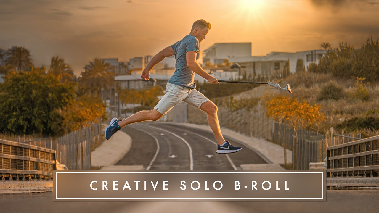HOW TO FILM CREATIVE B-ROLL OF YOURSELF // EPIC SOLO SMARTPHONE B-ROLL TUTORIAL!