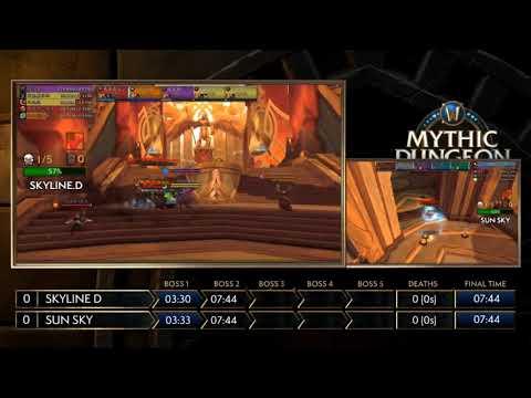 SEMI FINALS! MDI Mythic Dungeon Invitational! Skyline D vs Sun Sky