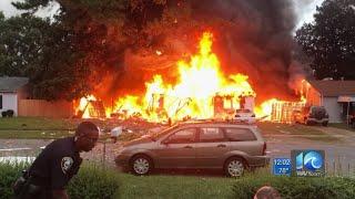 Chesapeake house explosion investigation