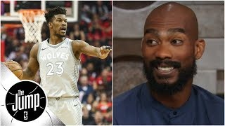 Corey Brewer talks Jimmy Butler drama in Minnesota | The Jump